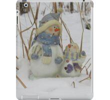 Snowman Family iPad Case/Skin