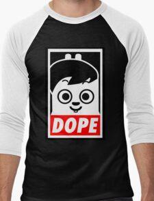Hip Hop Monster DOPE ( Jung Kook - BTS ) Men's Baseball ¾ T-Shirt