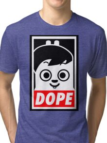Hip Hop Monster DOPE ( Jung Kook - BTS ) Tri-blend T-Shirt