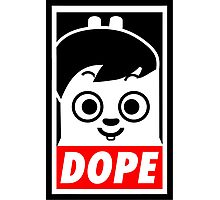 Hip Hop Monster DOPE ( Jung Kook - BTS ) Photographic Print
