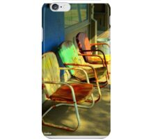 Old Chairs iPhone Case/Skin
