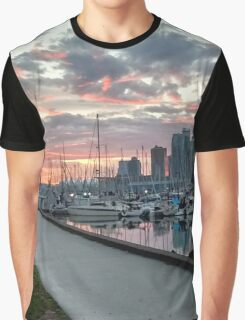 A seat by the Sea Graphic T-Shirt