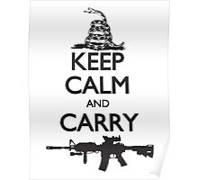 Keep Calm and Carry Poster