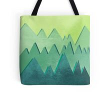 Some Green Hill Noise Tote Bag