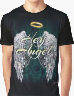 One Direction Hey Angel Graphic T-Shirt
