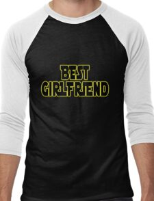 STAR WARS ~ Best girlfriend Men's Baseball ¾ T-Shirt