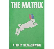 The Matrix Minimalist Poster Photographic Print
