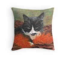 The Mona Lydia Throw Pillow