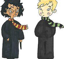 Harry & Draco by skylarpeak