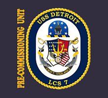 LCS-7 USS Detroit Pre-Commissioning Unit Unisex T-Shirt