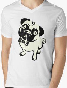 Pug life Mens V-Neck T-Shirt