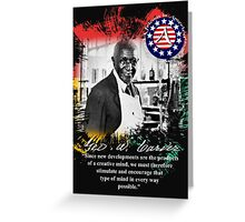 george washington carver Greeting Card