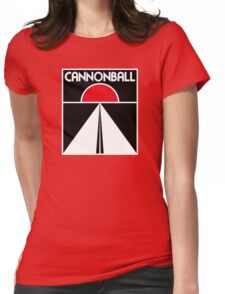 Cannonball Run Womens Fitted T-Shirt