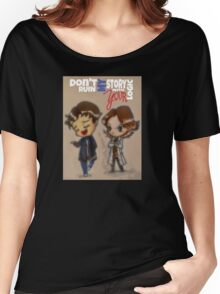 Don't ruin my story with your logic Women's Relaxed Fit T-Shirt