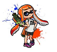 Splatoon Girl Photographic Print