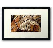 Bushel Basket Lids_Bishops Head Framed Print