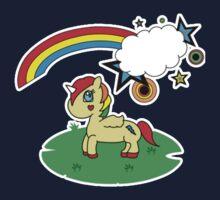 Lux the Unicorn (Clean Version) Kids Tee