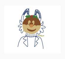 A Christmas Pudding-Head Kids Tee