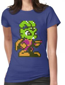 Bucky O'Hare - NES Sprite Womens Fitted T-Shirt