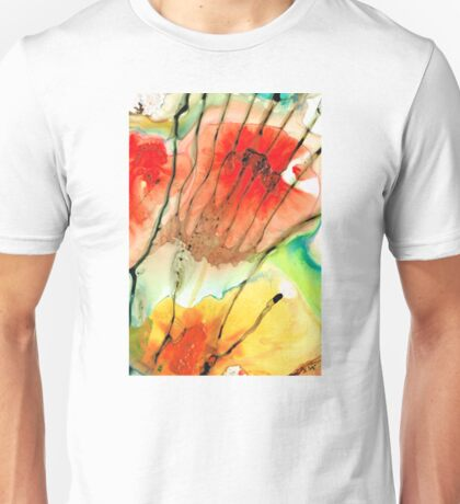 Abstract Red Art - The Promise - Sharon Cummings Unisex T-Shirt