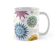 Colorful Flower Pattern Mug