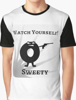 Games art Watch Yourself Sweety Bad Donut Graphic T-Shirt