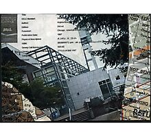 Portland Library Conference Collage Photographic Print
