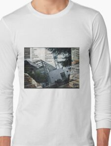 Portland Library Conference Collage Long Sleeve T-Shirt