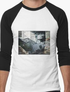 Portland Library Conference Collage Men's Baseball ¾ T-Shirt