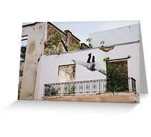 Street Art in Panama Greeting Card