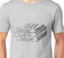 His Dark Materials Book Stack Unisex T-Shirt