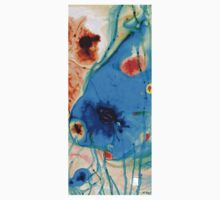 Colorful Abstract Art - The Reef - Sharon Cummings One Piece - Short Sleeve