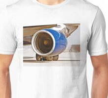 Rolls Royce Trent 700  Jet Engine on an Airbus 330-200 Unisex T-Shirt