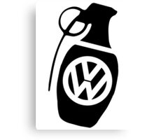 vw  grenade Canvas Print