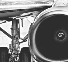 Boeing 737 & CFM56 Turbofan Engine Sticker