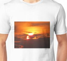 sunset in Neos Marmaras Unisex T-Shirt