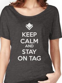 Guild Wars - Keep Calm and Stay on Tag Women's Relaxed Fit T-Shirt