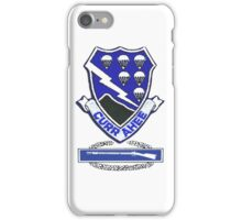 Currahee Patch & Combat Infantry Badge (CIB) iPhone Case/Skin