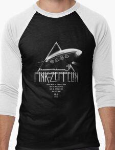 Pink Zeppelin Men's Baseball ¾ T-Shirt
