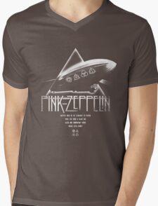 Pink Zeppelin Mens V-Neck T-Shirt
