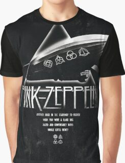 Pink Zeppelin Graphic T-Shirt