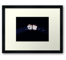 the strongest trick Framed Print