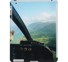 Helicopter Ride in Hawaii iPad Case/Skin