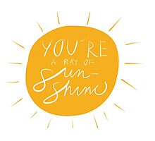 Sun shine Photographic Print