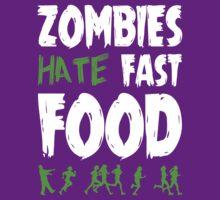 Zombies hate fast food by teesandlove