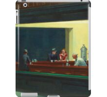 Vintage Edward Hopper Nighthawks Diner iPad Case/Skin