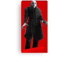 Nosferatu day Canvas Print