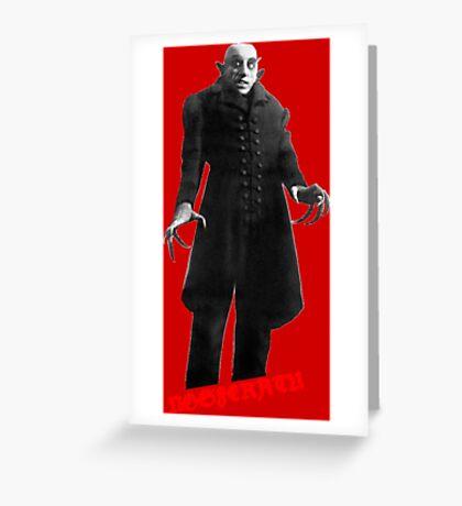 Nosferatu day Greeting Card