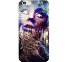 Violet lady iPhone Case/Skin