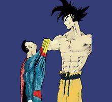 Superman vs Goku Unisex T-Shirt